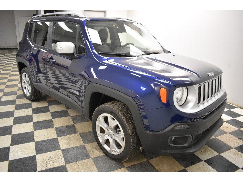 2017 Jeep Renegade Limited- BLUETOOTH * LEATHER * BACKUP CAM