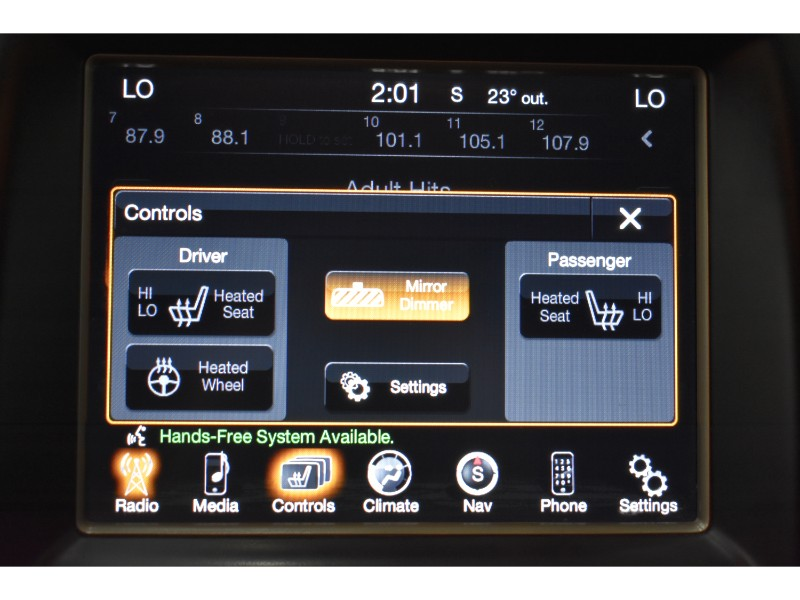 2015 Jeep Grand Cherokee Limited-LEATHER * NAV * BACKUP CAM