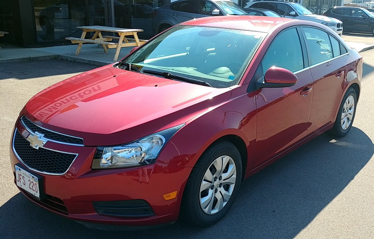 2013 Chevrolet Cruze LT TURBO - CRUISE * KEYLESS ENTRY * LOW KMS