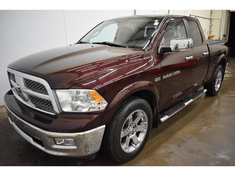 2012 Ram 1500 LARAMIE CREW 4X4 - HEATED SEATS/STEERING * LEATHER