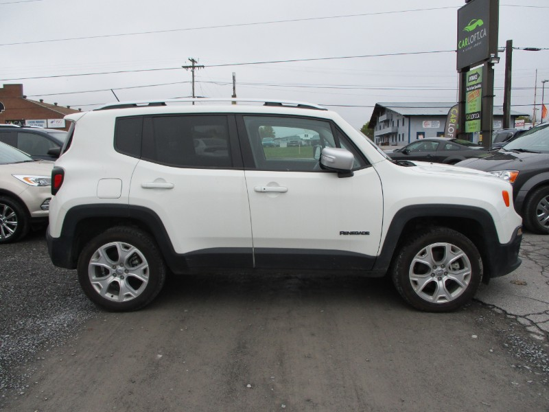 2017 Jeep Renegade LIMITED 4X4 - LEATHER * BACKUP CAM * NAV