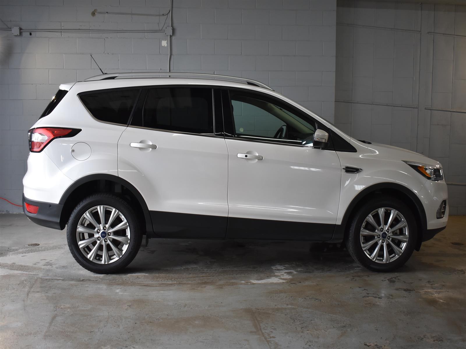 White Ford Escape >> 2018 Ford Escape Titanium Alloy Back Up Camera White 2 0l