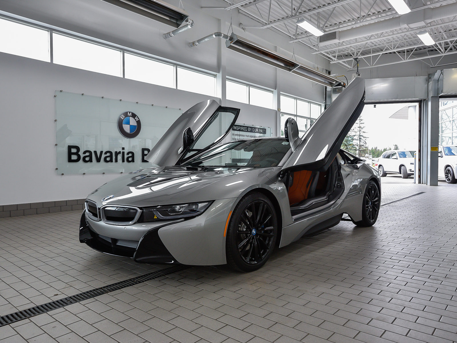 New Bmw I8 In Edmonton Bavaria Bmw