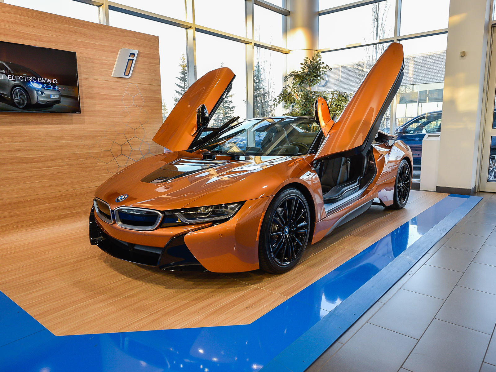 New 2019 Bmw I8 Roadster Coupe In Edmonton 19i83191 Bavaria Bmw