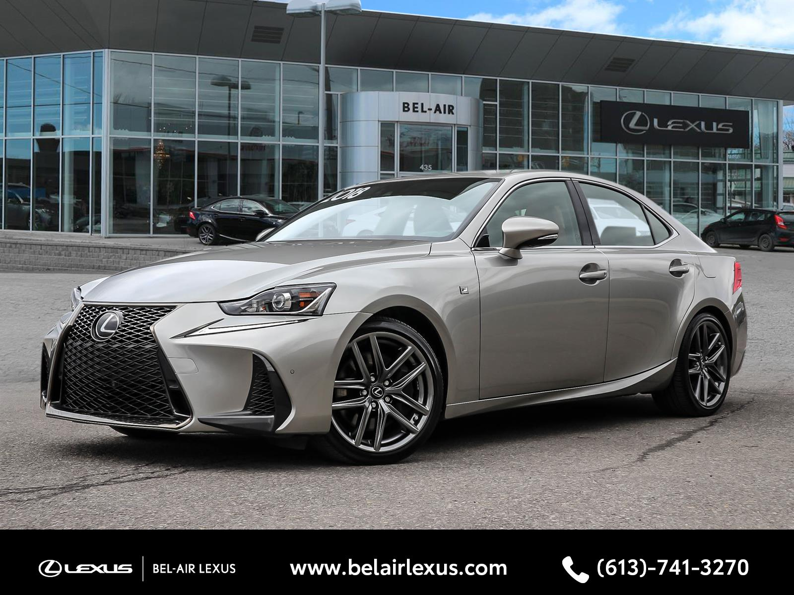 2018 Lexus IS 350 at Bel-Air Lexus