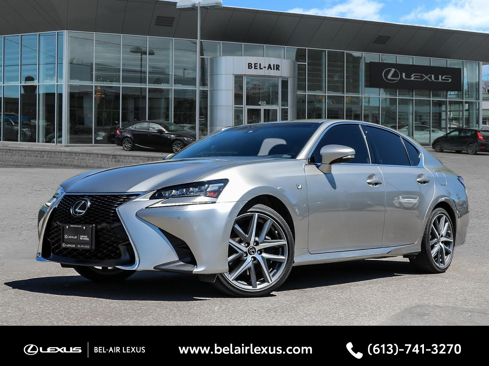 2018 Lexus GS 350 at Bel-Air Lexus