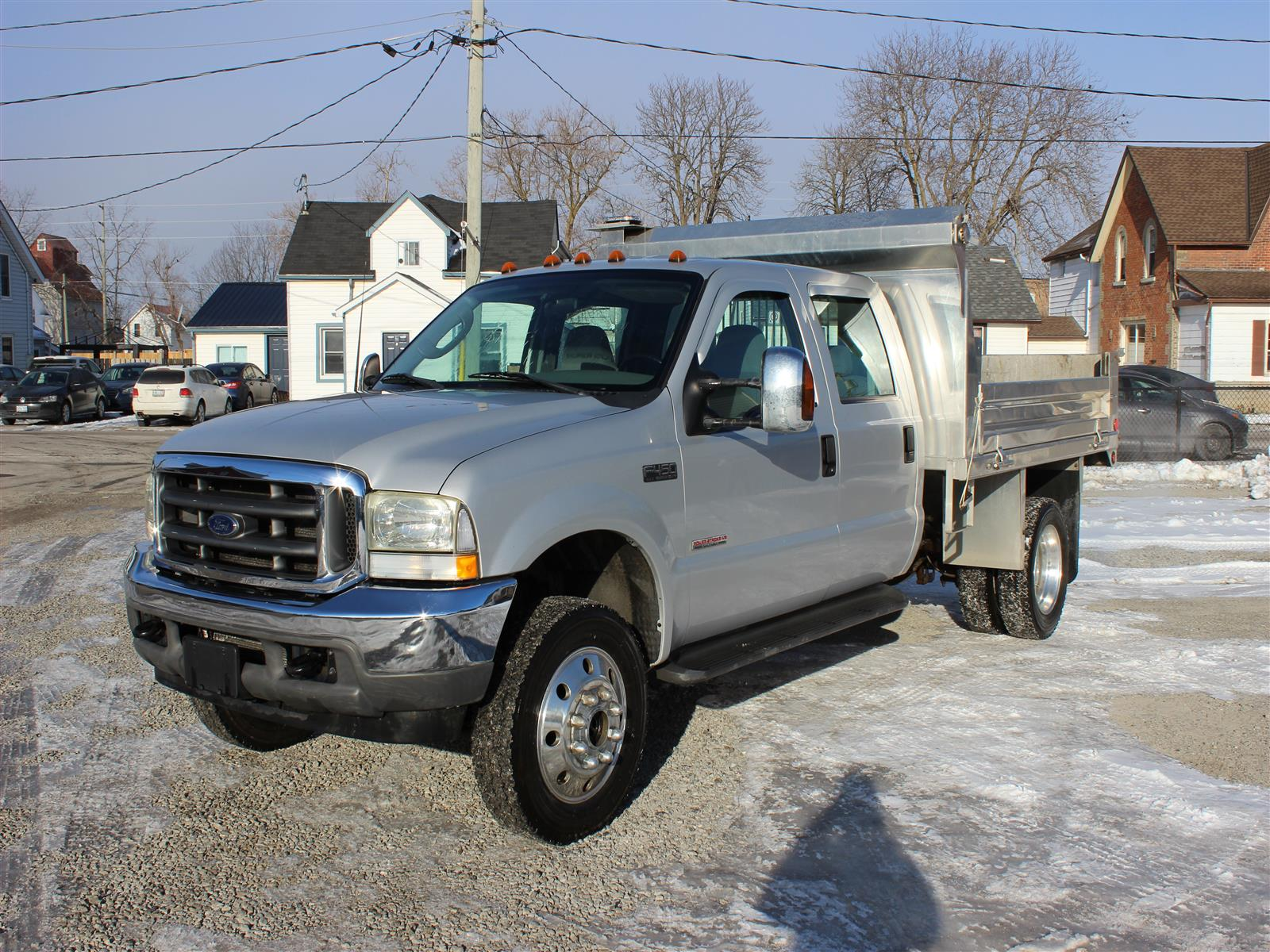 """2004 Ford F-450 Chassis Cab 176"""" WB 60"""" CA"""
