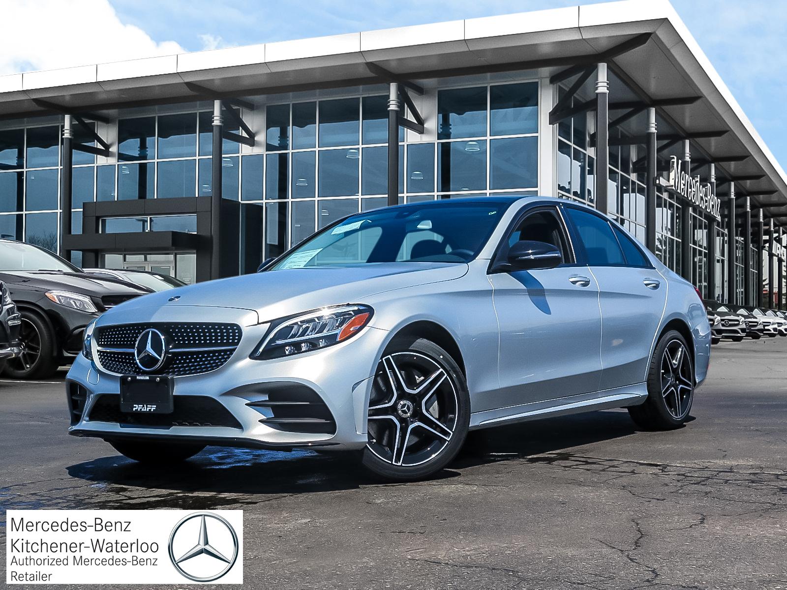 New 2019 Mercedes-Benz C300 4MATIC Sedan