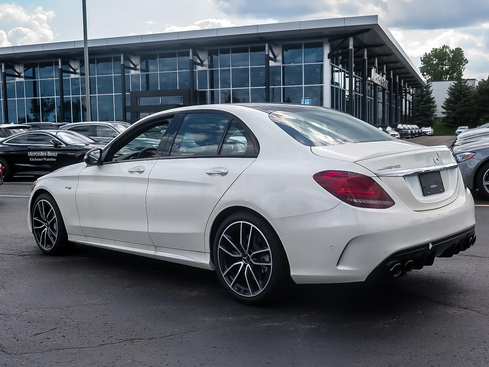 New 2019 Mercedes-Benz C43 AMG 4MATIC Sedan