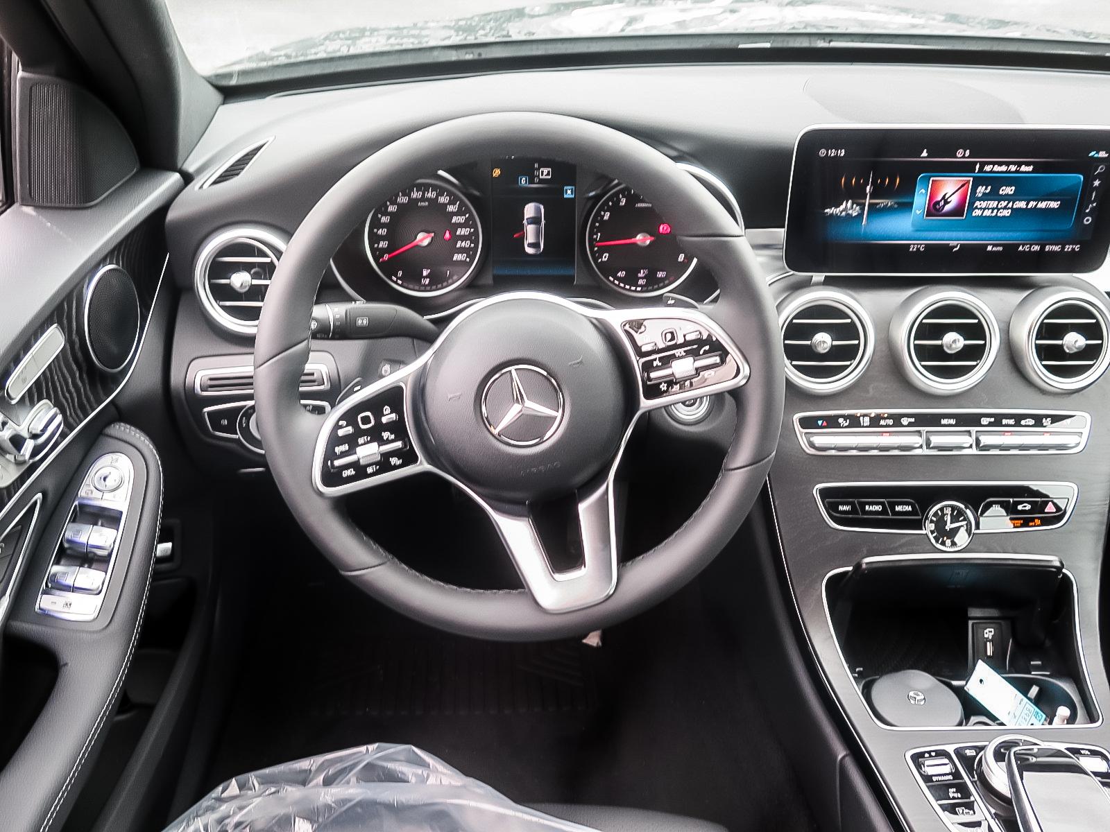 New 2020 Mercedes-Benz C300 4MATIC Sedan