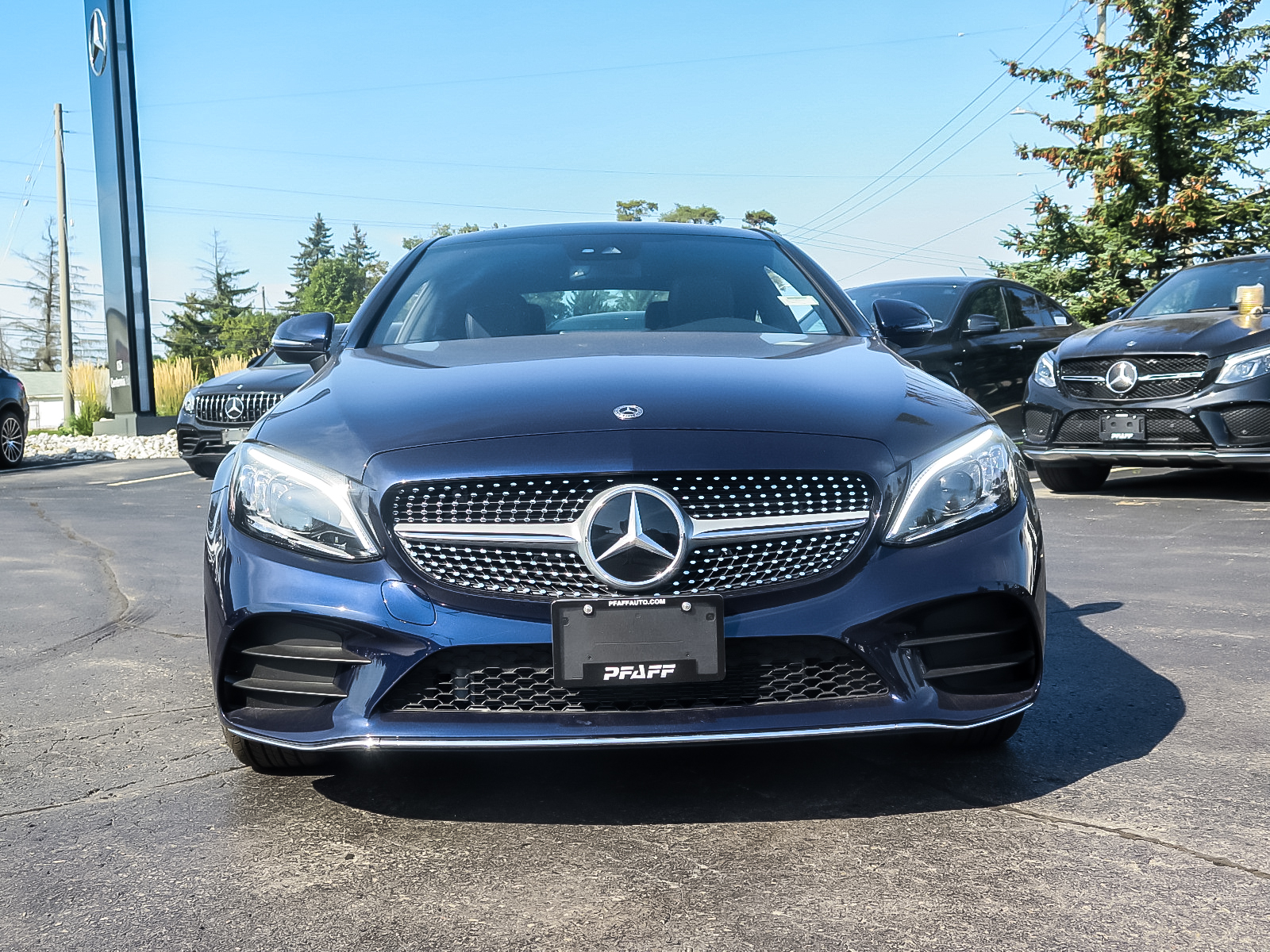 New 2020 Mercedes-Benz C300 4MATIC Coupe