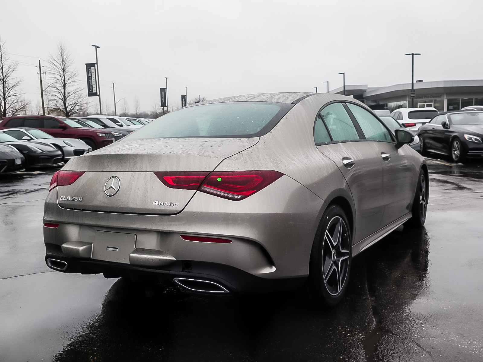 New 2020 Mercedes-Benz CLA250 4MATIC Coupe 4-Door Coupe in ...
