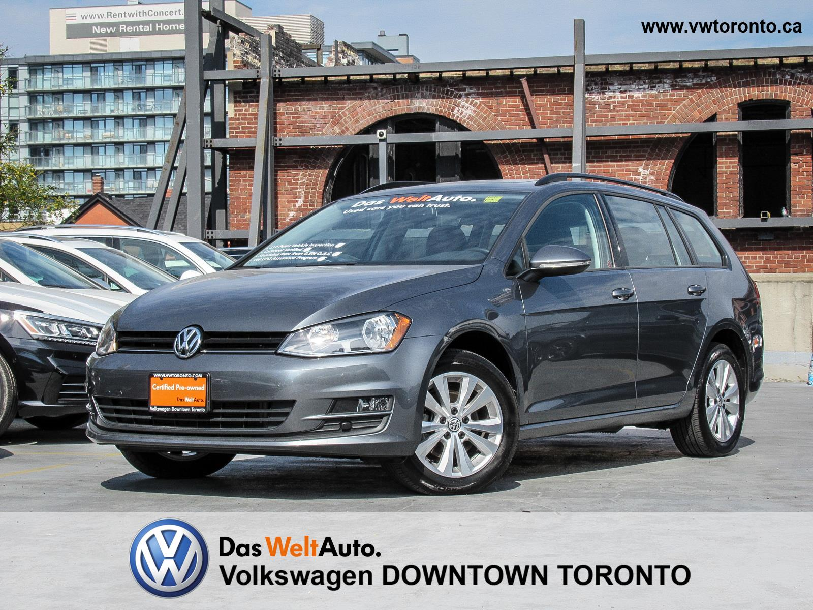 Volkswagen Downtown Toronto >> Used Volkswagen Golf Wagon For Sale Pre Owned Volkswagen