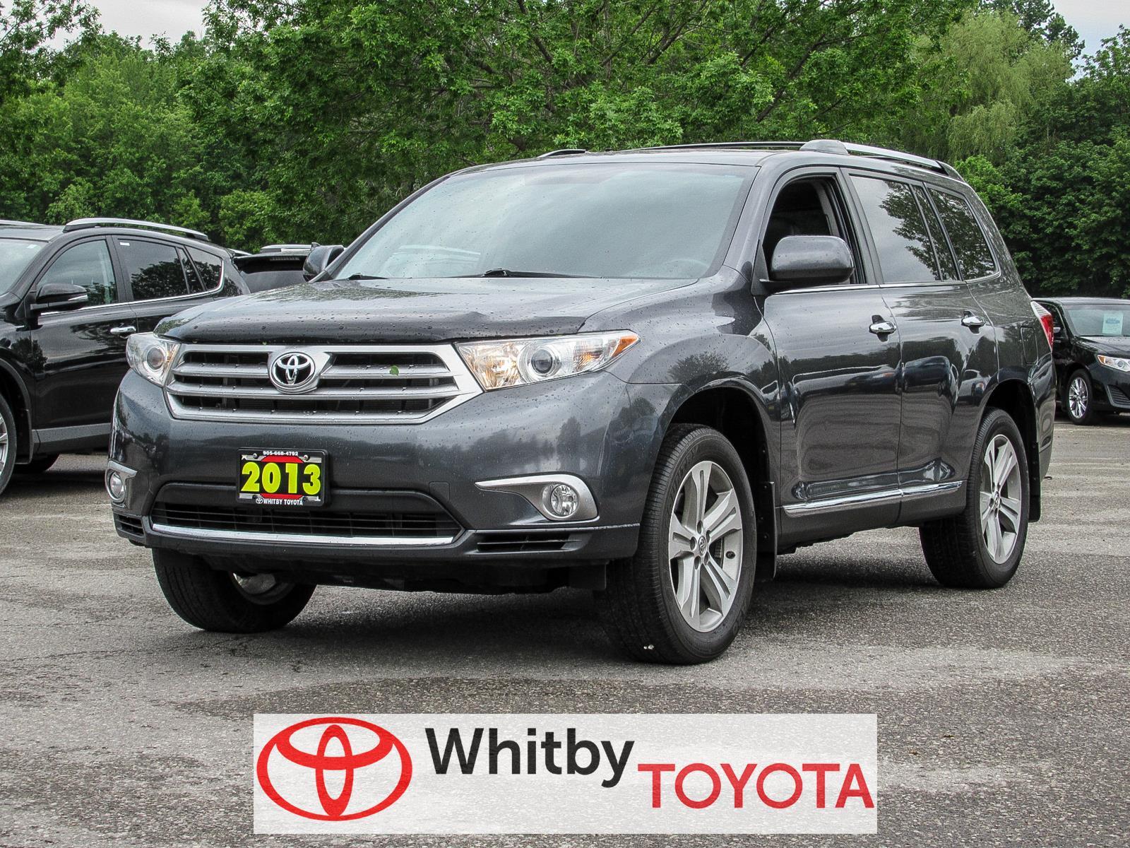 New 2013 Toyota Highlander, $29977