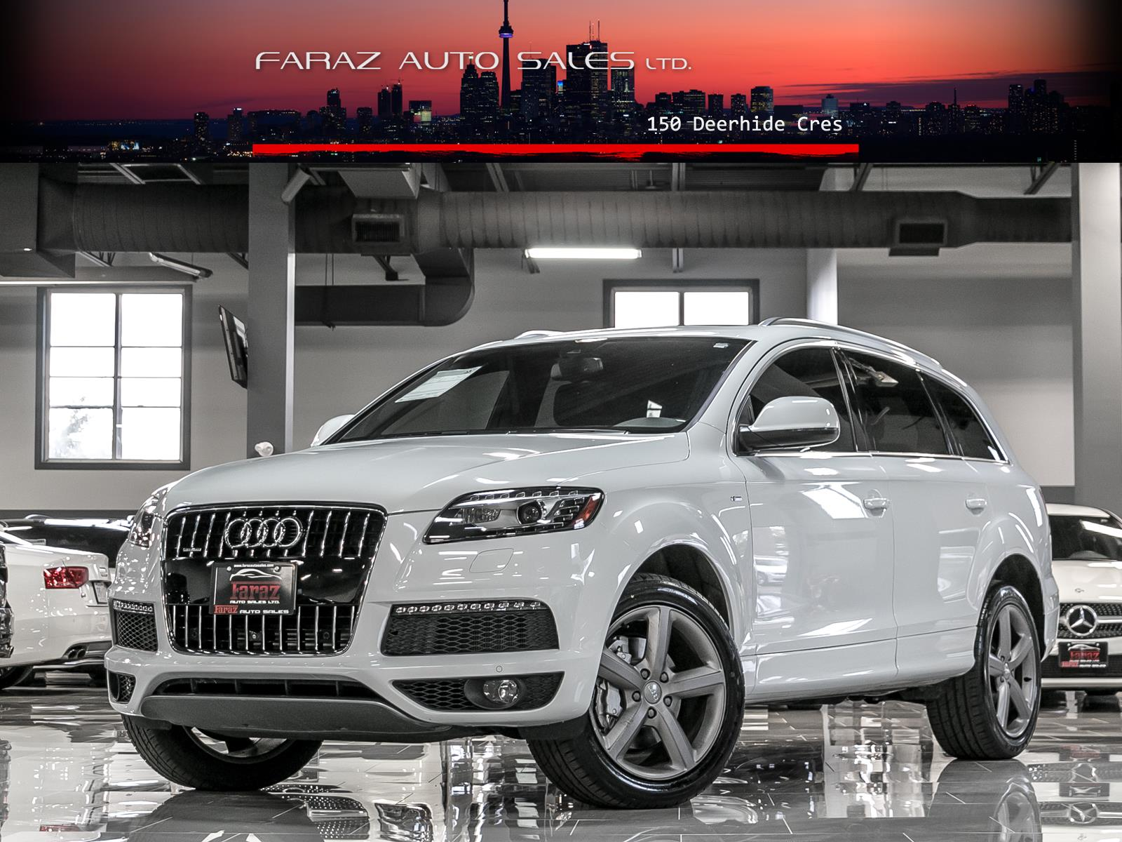 Audi Q Faraz Auto Sales Used Car For Sale - Used cars for sale audi q7