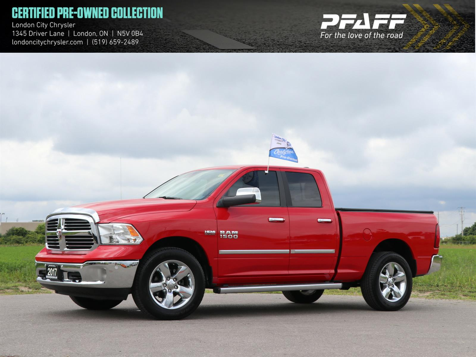 used 2017 Ram 1500 car, priced at $26,999