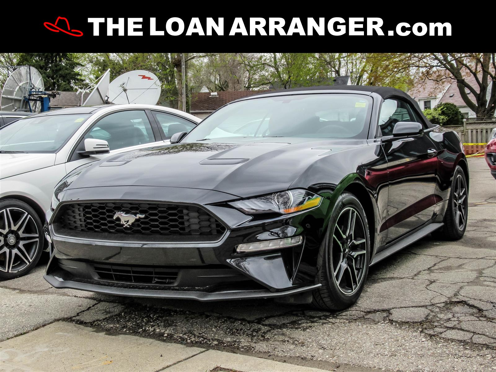 used 2018 Ford Mustang car