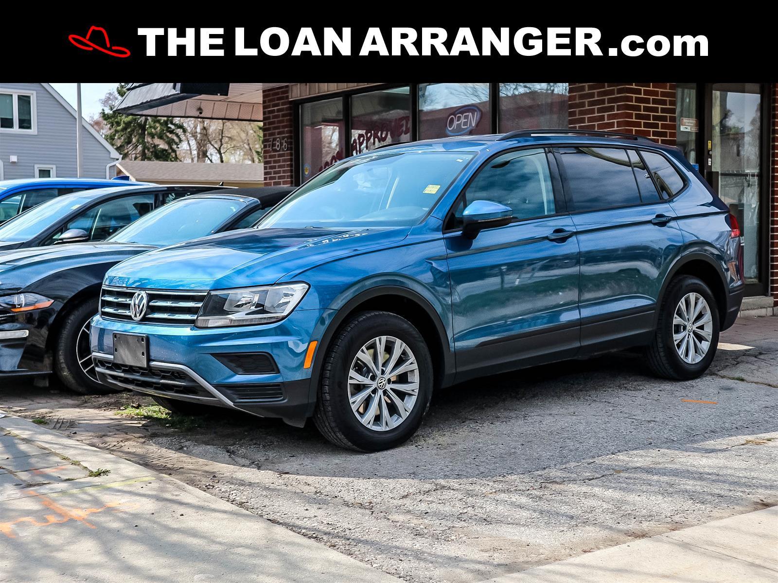 used 2019 Volkswagen Tiguan car