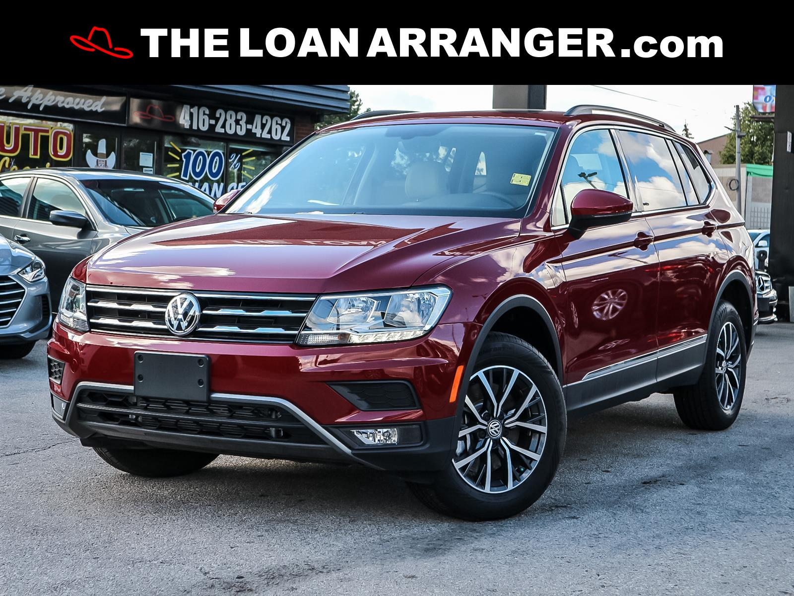 used 2020 Volkswagen Tiguan car