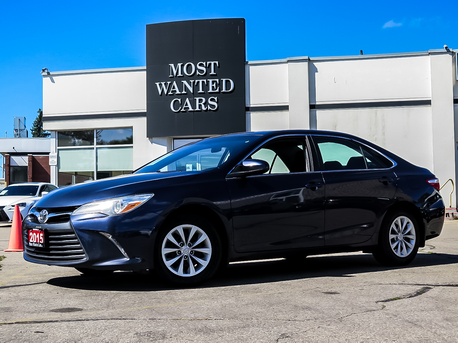 used 2015 Toyota Camry car, priced at $13,961