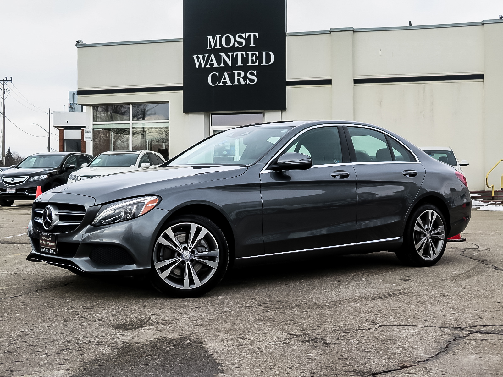 used 2017 Mercedes-Benz C300 car, priced at $29,492