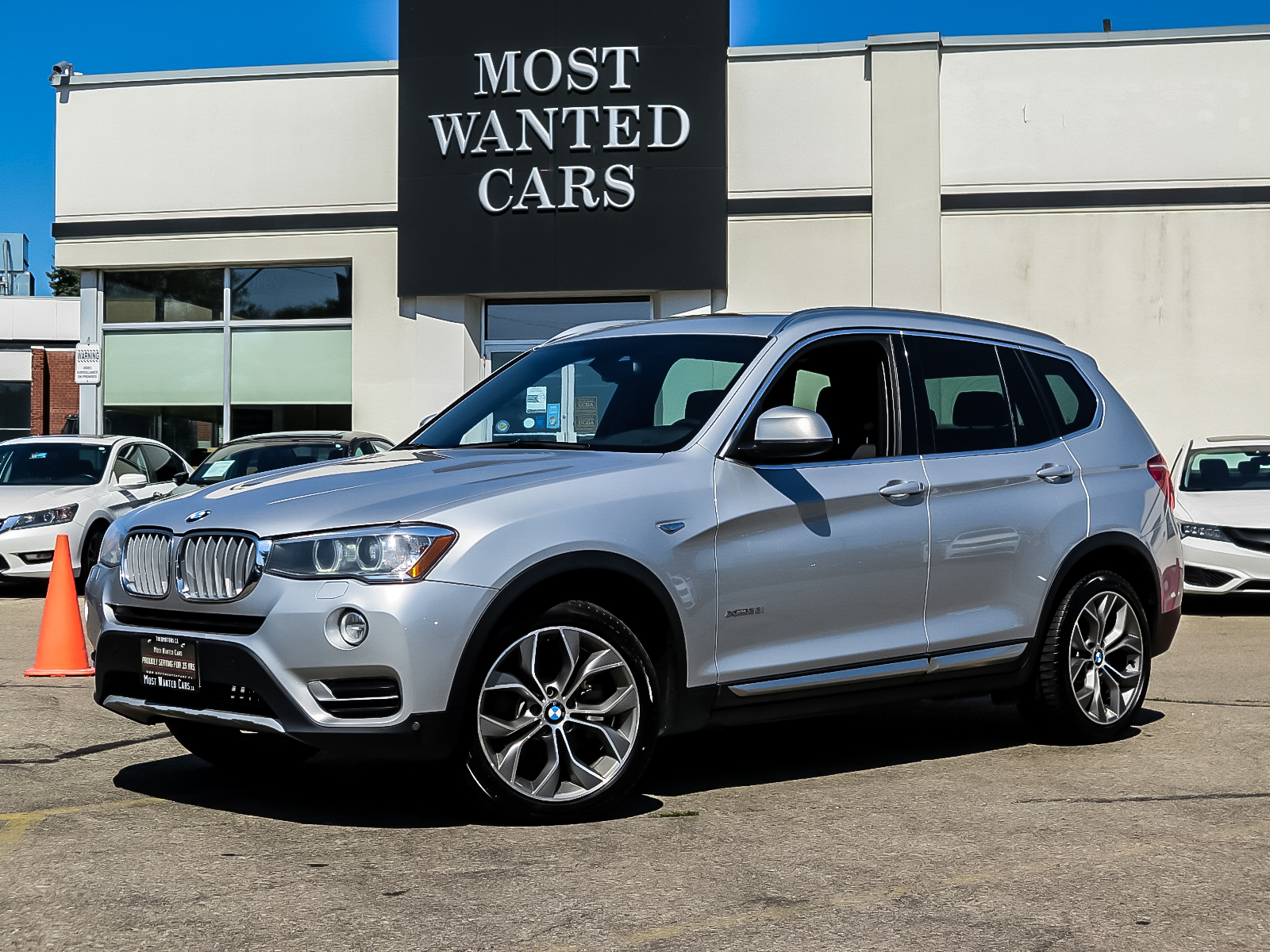 used 2016 BMW X3 car, priced at $24,983