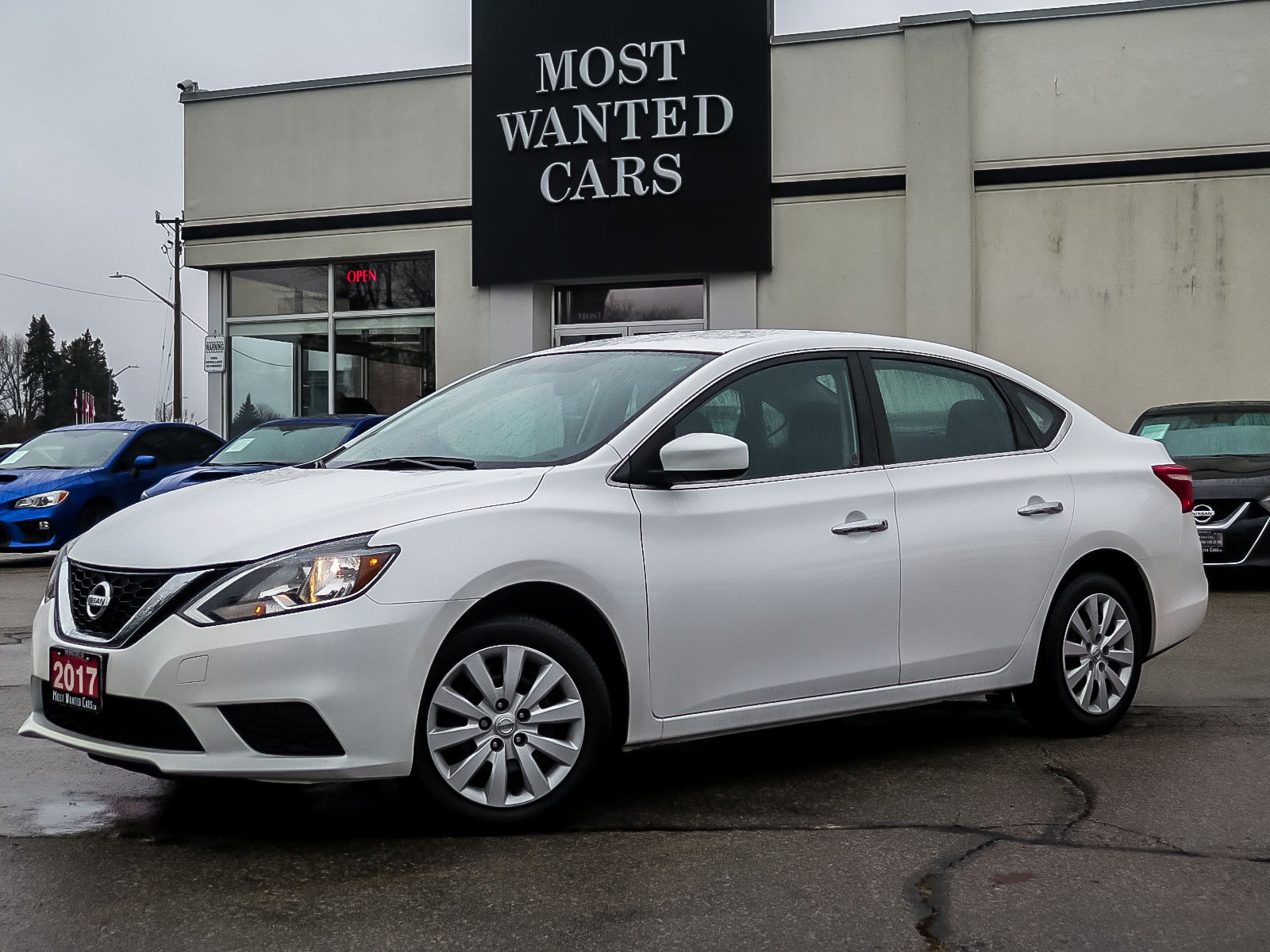 used 2017 Nissan Sentra car, priced at $12,490