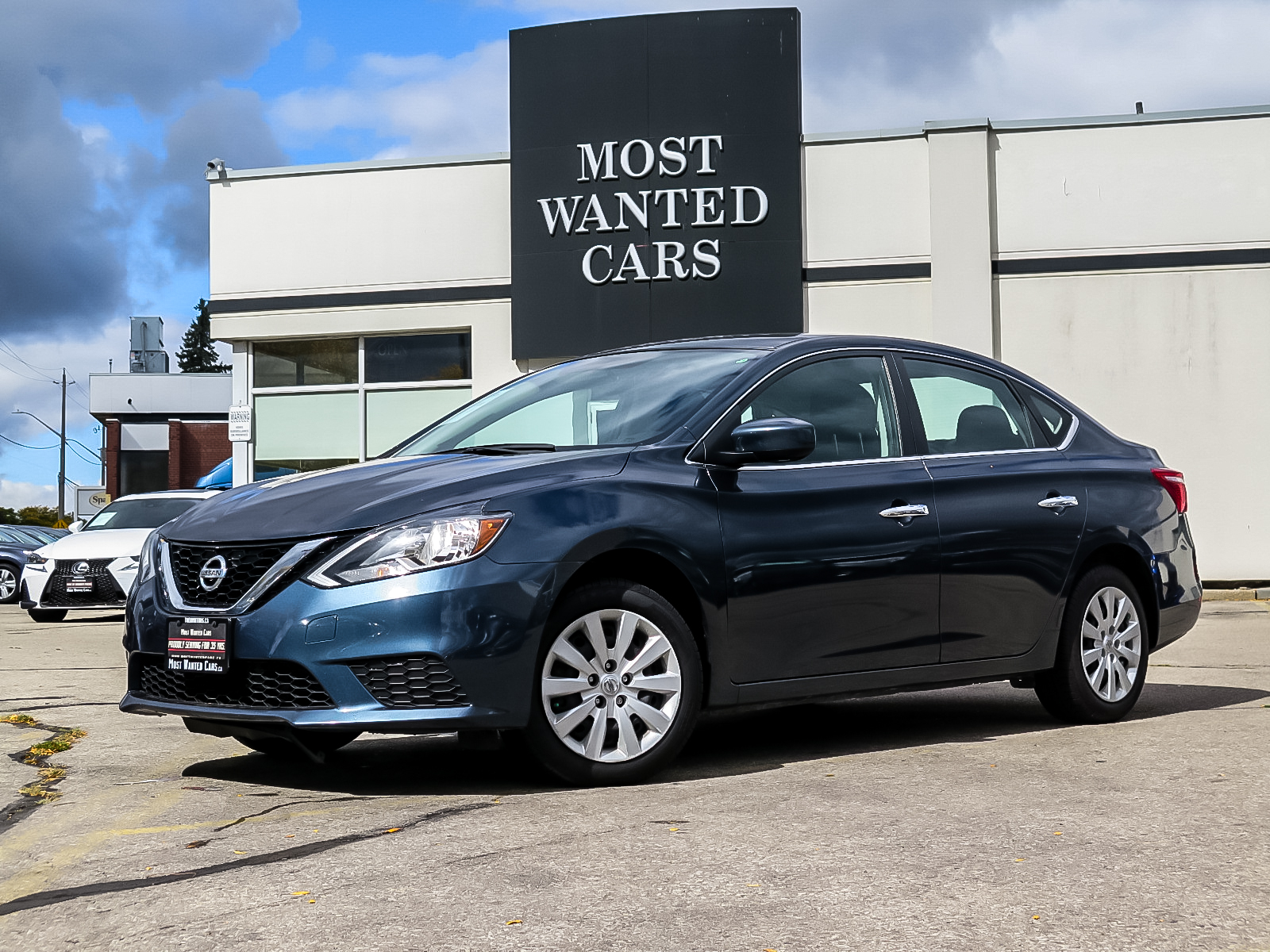 used 2016 Nissan Sentra car, priced at $11,352