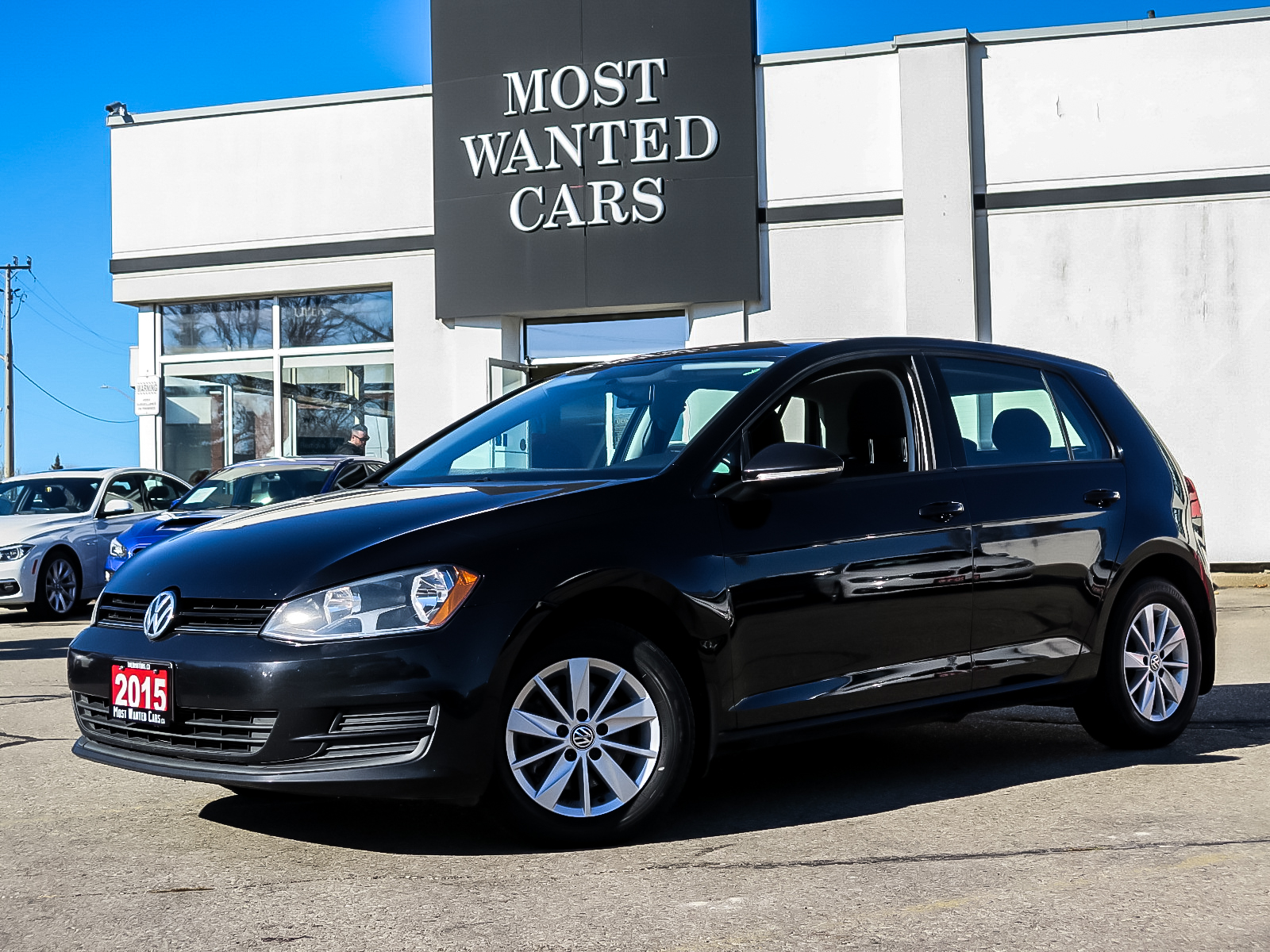 used 2015 Volkswagen Golf car, priced at $12,962