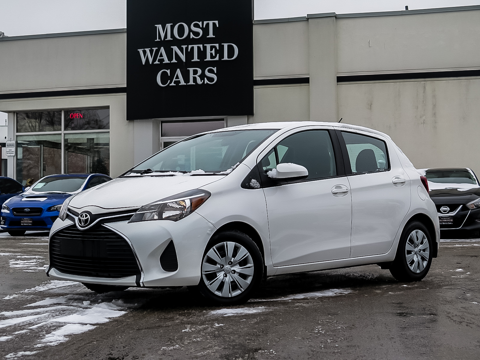 used 2016 Toyota Yaris car, priced at $11,392