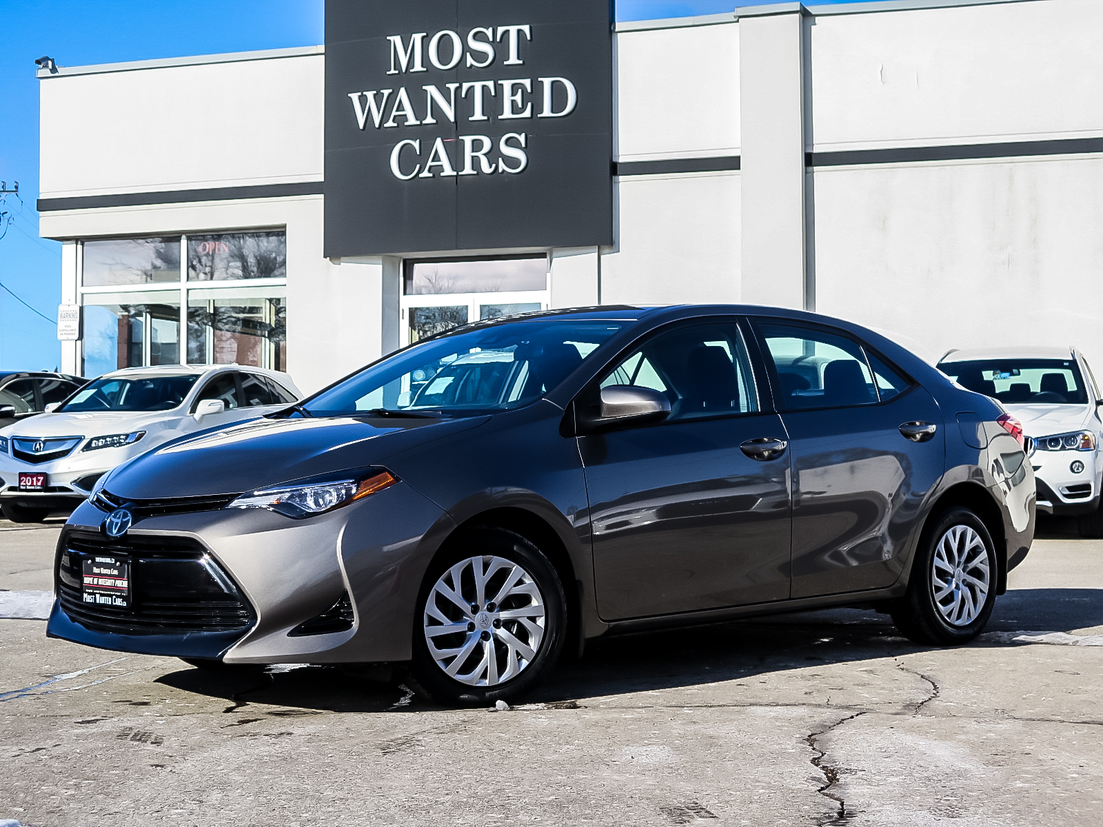 used 2017 Toyota Corolla car, priced at $16,492