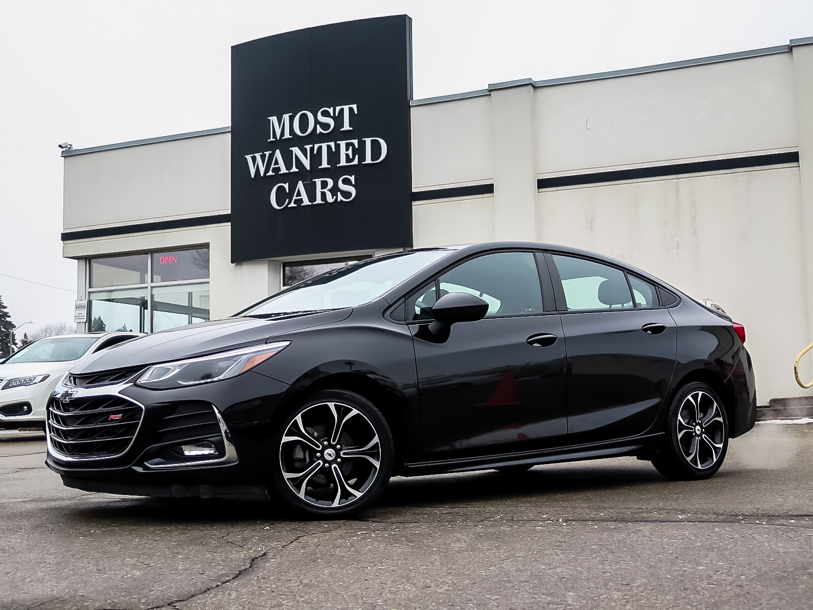 used 2019 Chevrolet Cruze car, priced at $17,492