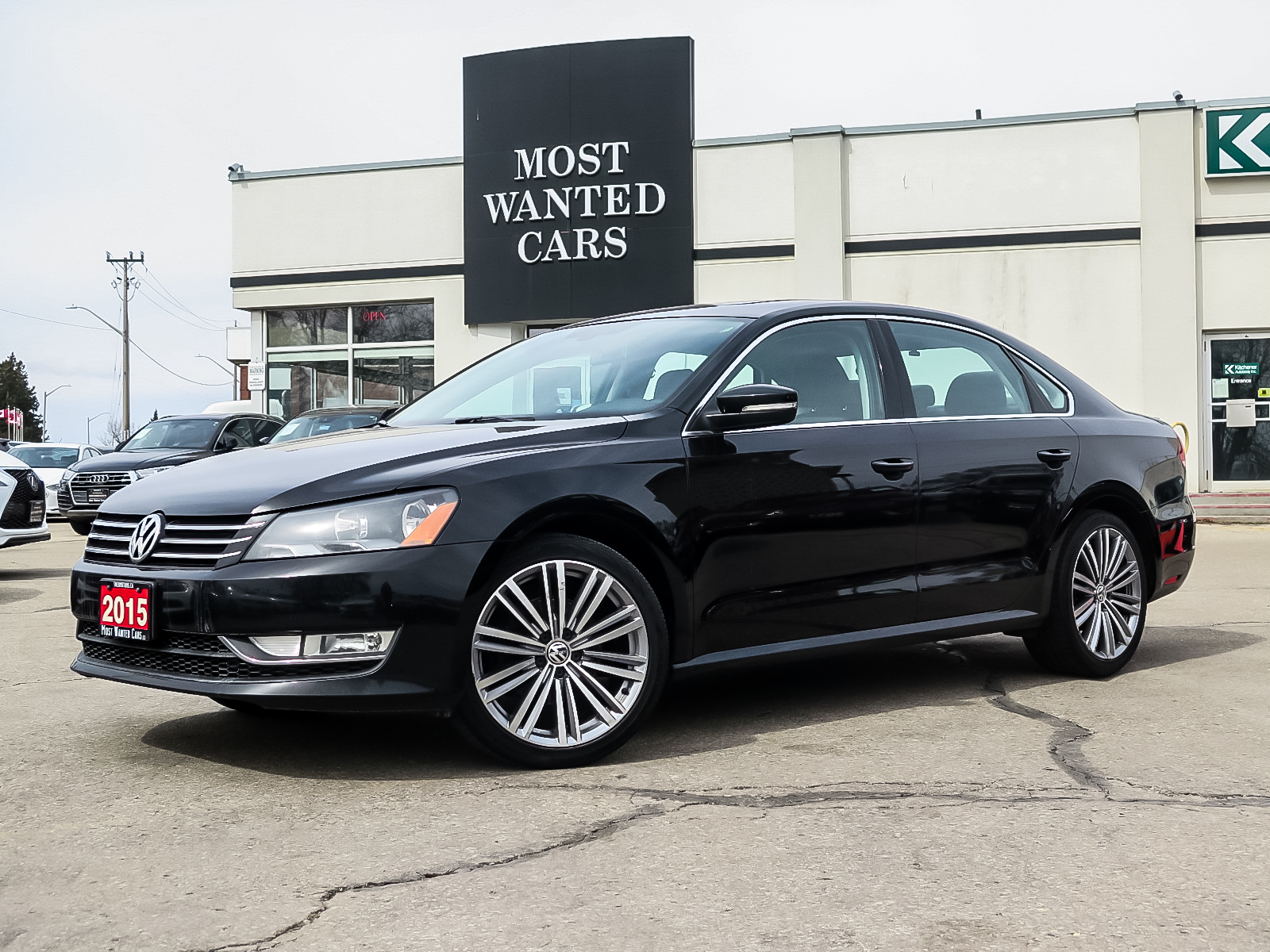 used 2015 Volkswagen Passat car, priced at $12,492