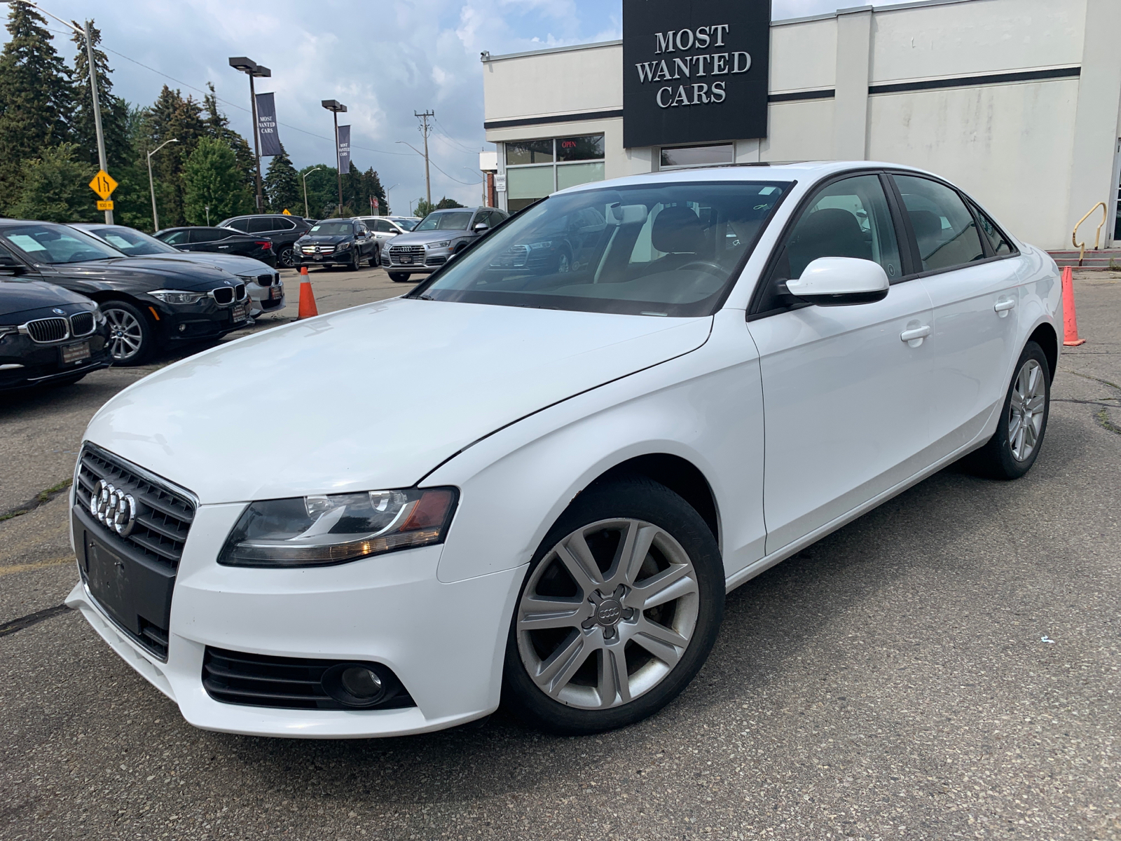 used 2011 Audi A4 car, priced at $10,964