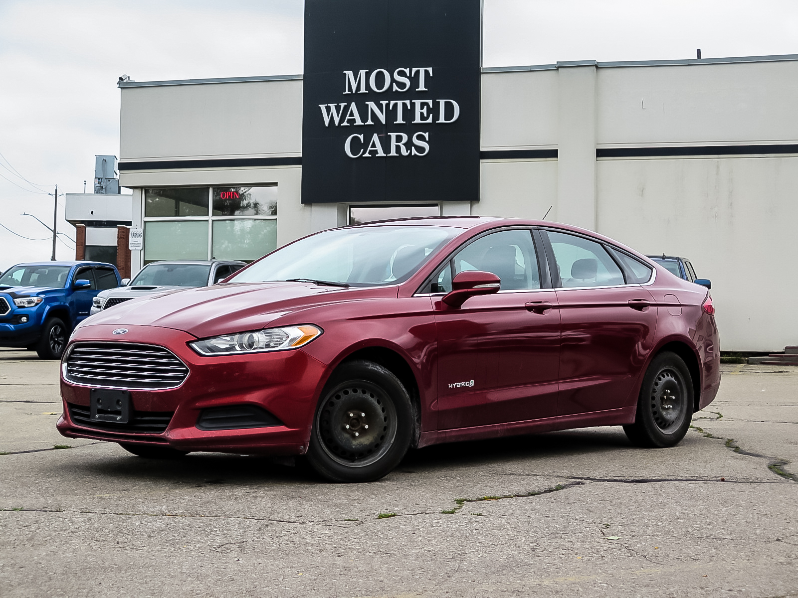 used 2014 Ford Fusion Hybrid car, priced at $7,493