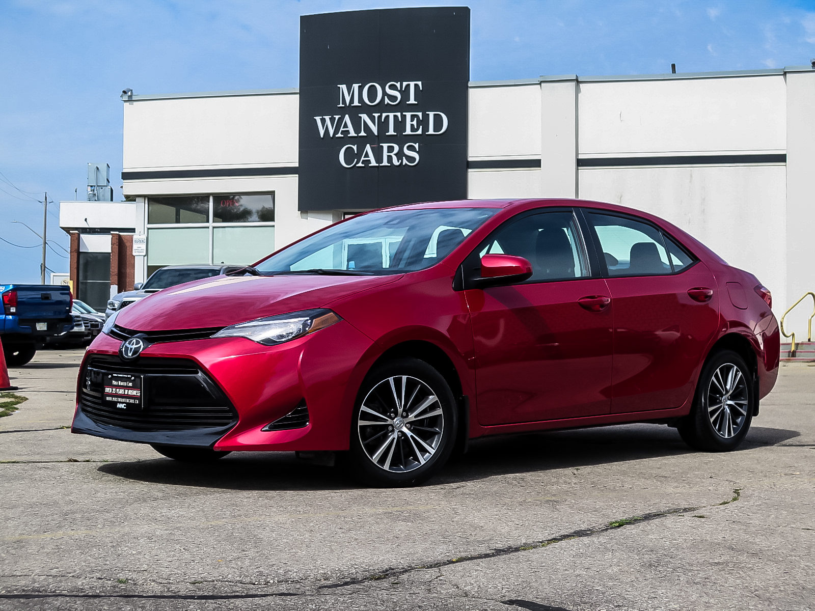 used 2017 Toyota Corolla car, priced at $17,692