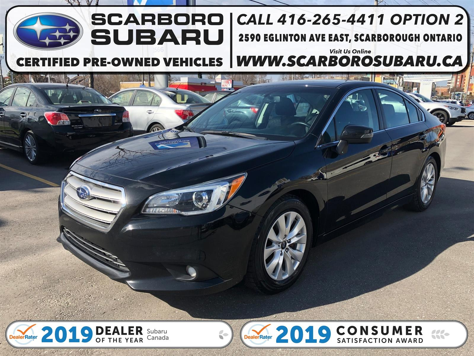 used 2015 Subaru Legacy car, priced at $15,995