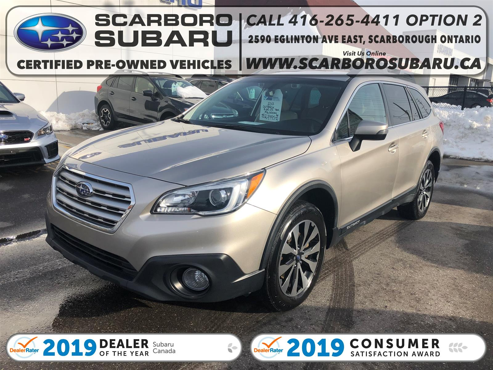 used 2017 Subaru Outback car, priced at $25,995