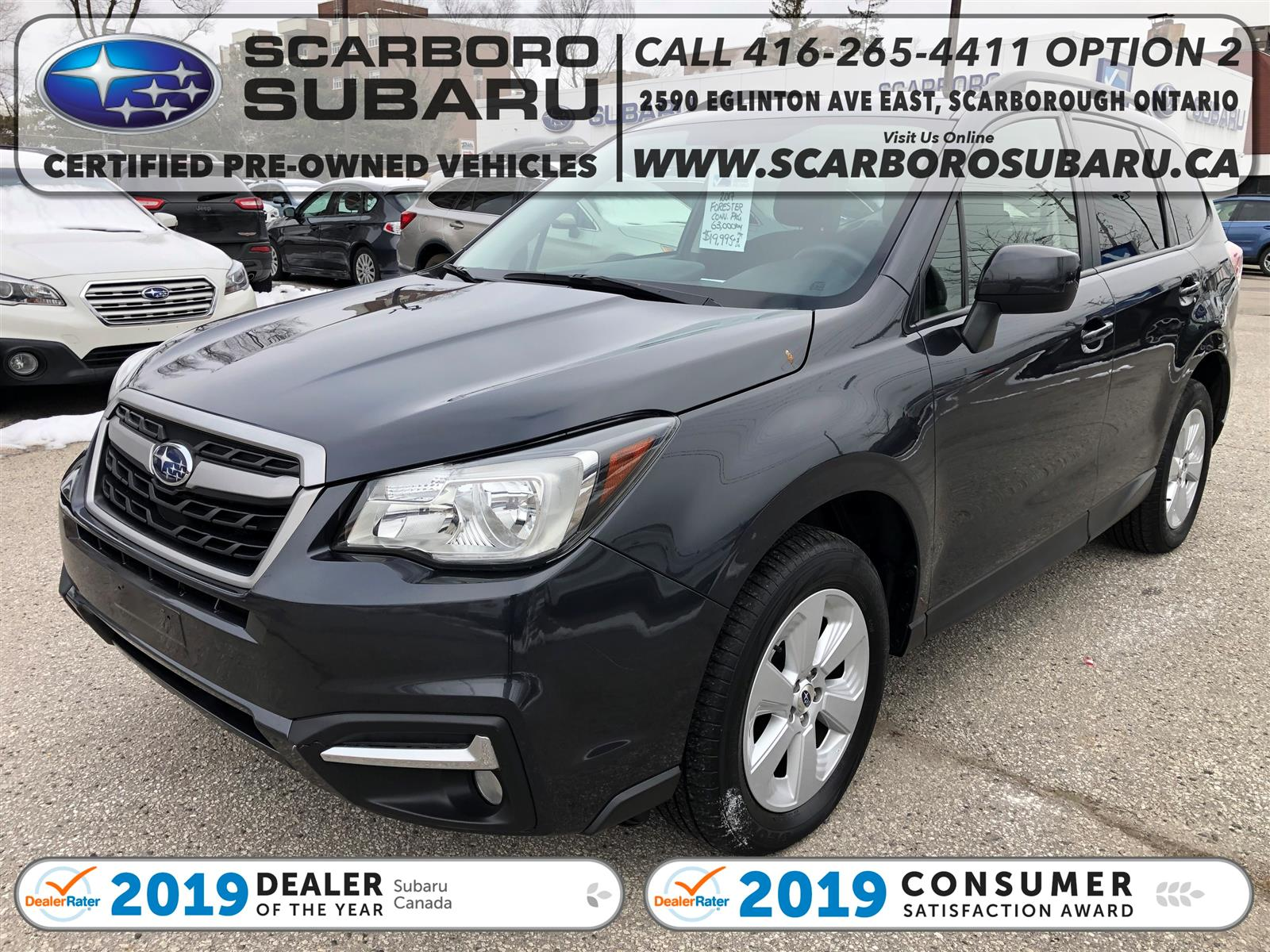 used 2017 Subaru Forester car, priced at $19,995