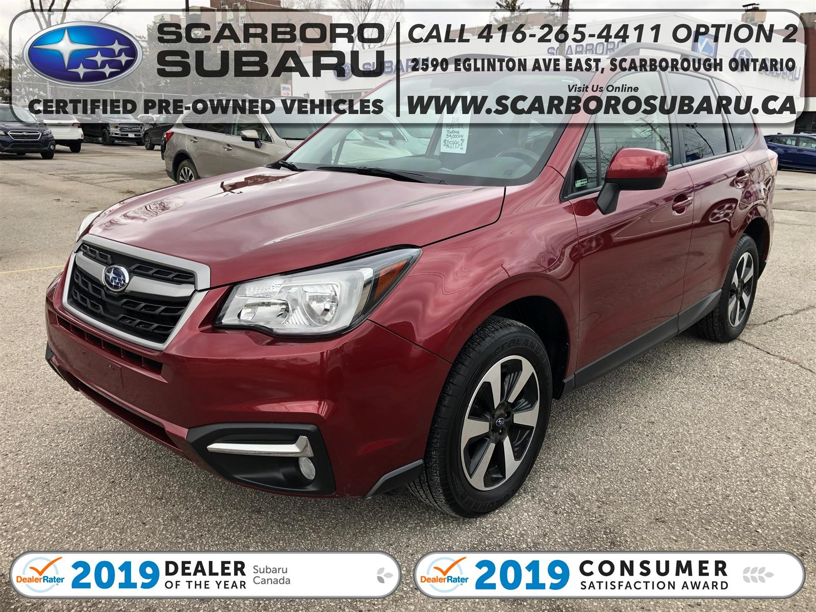 used 2018 Subaru Forester car, priced at $25,995