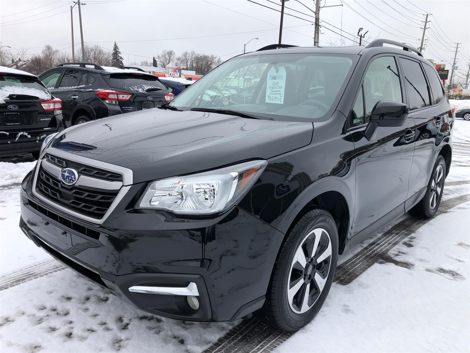 used 2018 Subaru Forester car, priced at $22,995