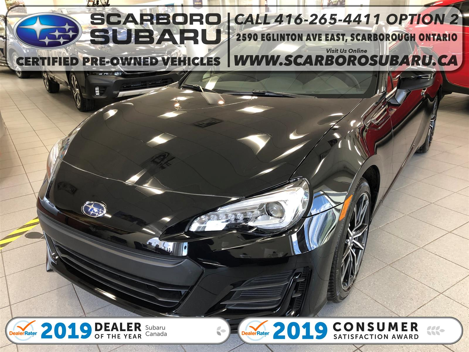 used 2020 Subaru BRZ car, priced at $26,995