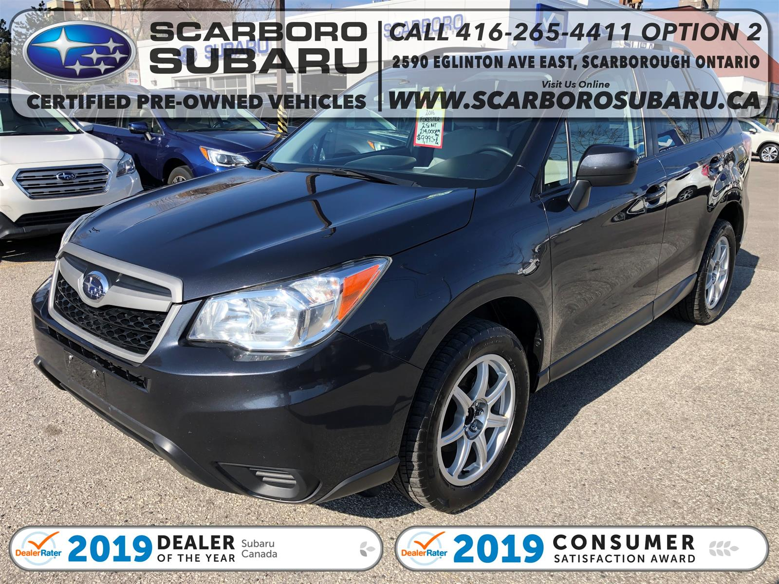 used 2016 Subaru Forester car, priced at $9,995