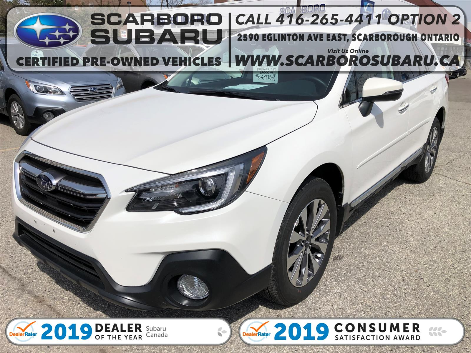 used 2019 Subaru Outback car, priced at $34,995