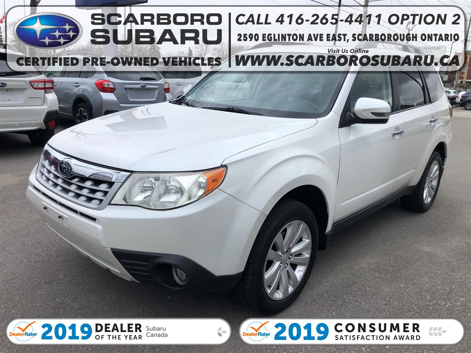 used 2012 Subaru Forester car, priced at $10,995
