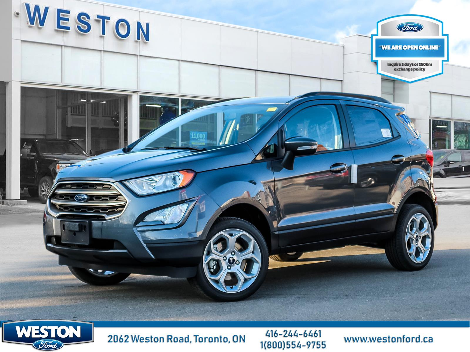 new 2021 Ford EcoSport car, priced at $32,399