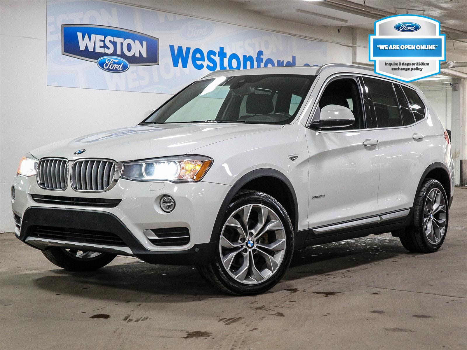 used 2017 BMW X3 car, priced at $26,588