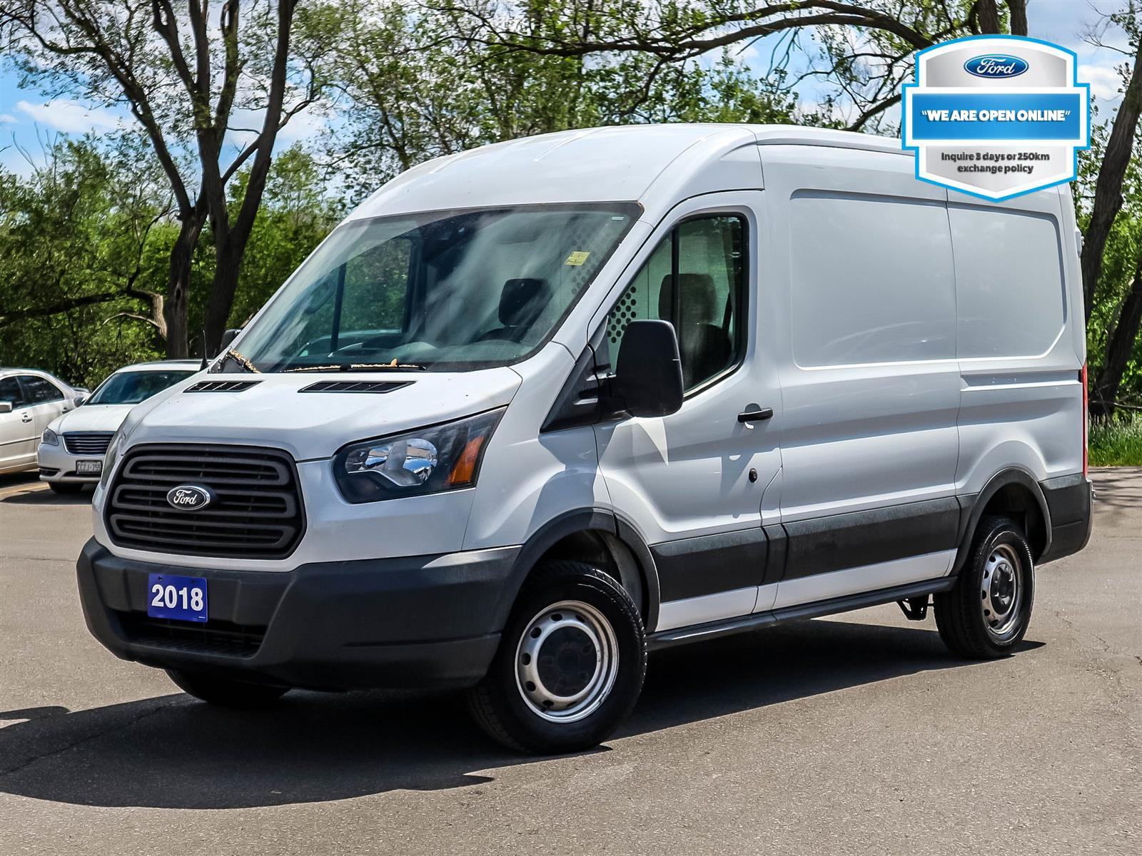 used 2018 Ford Transit-250 car, priced at $44,588