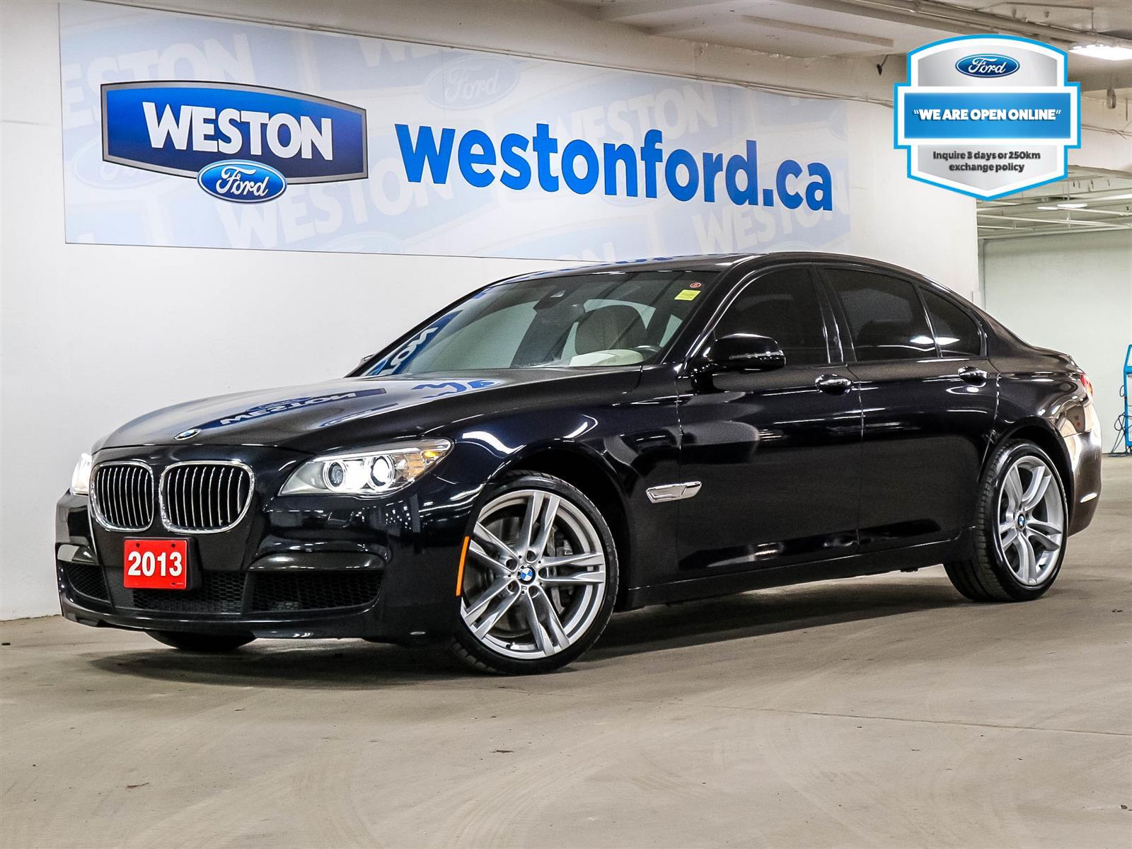 used 2013 BMW 750i car, priced at $23,988