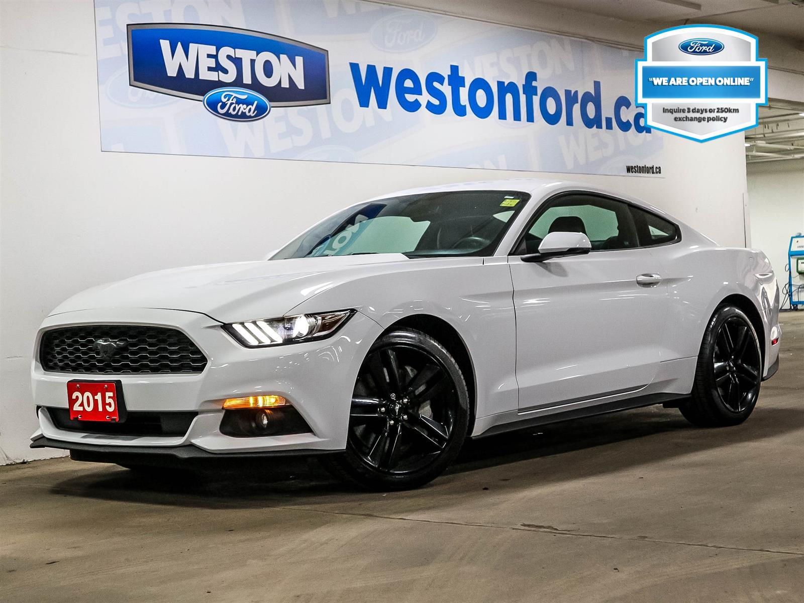 used 2015 Ford Mustang car, priced at $24,988